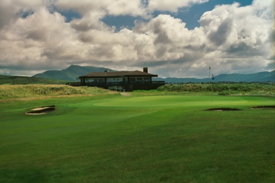 Clubhouse of the Waterville Golfcourse, Kerry, Ireland